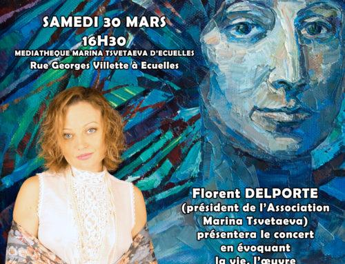 Concert Ivanna Nechay  30 Mars